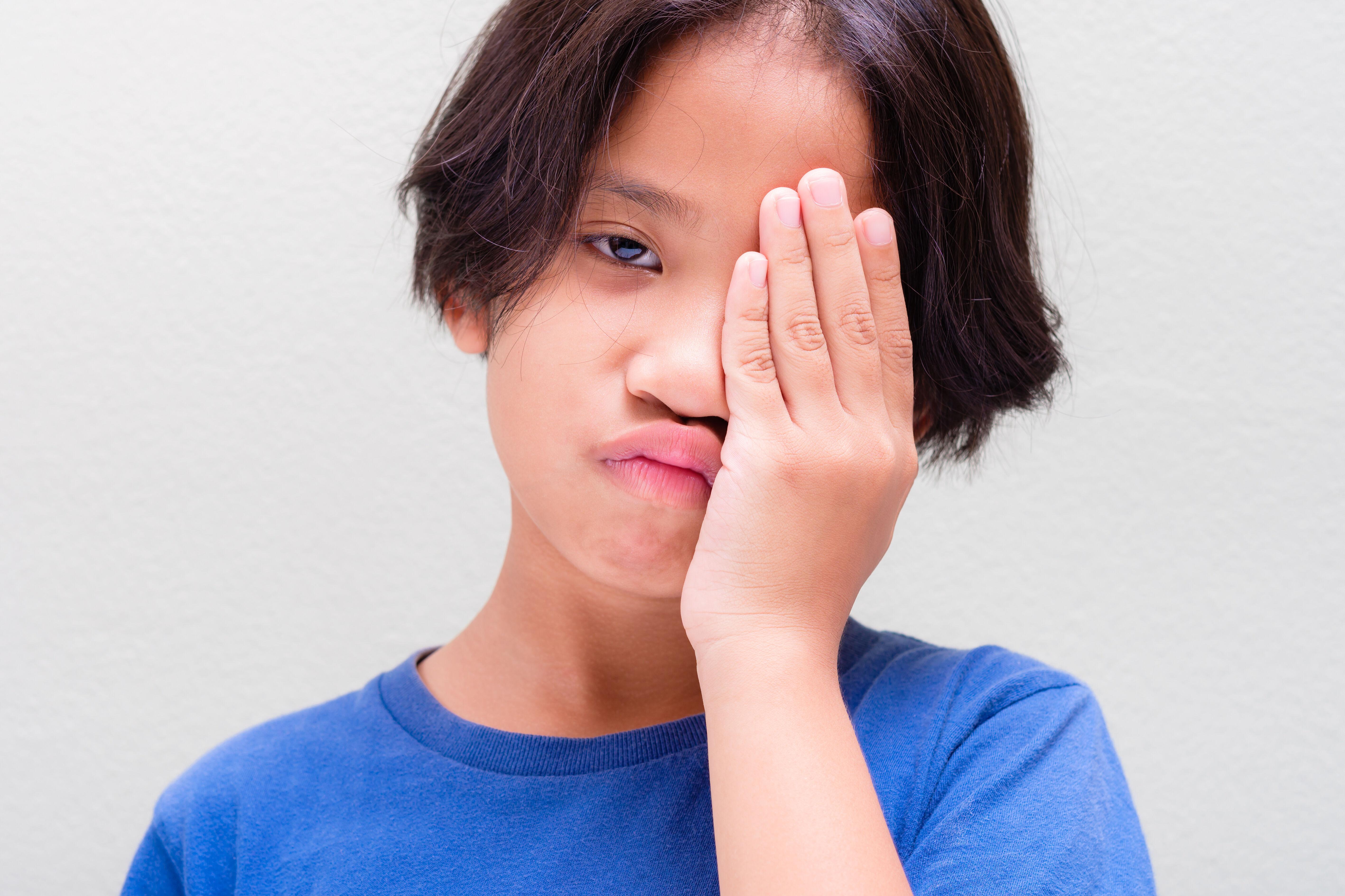 Conjunctivitis in children