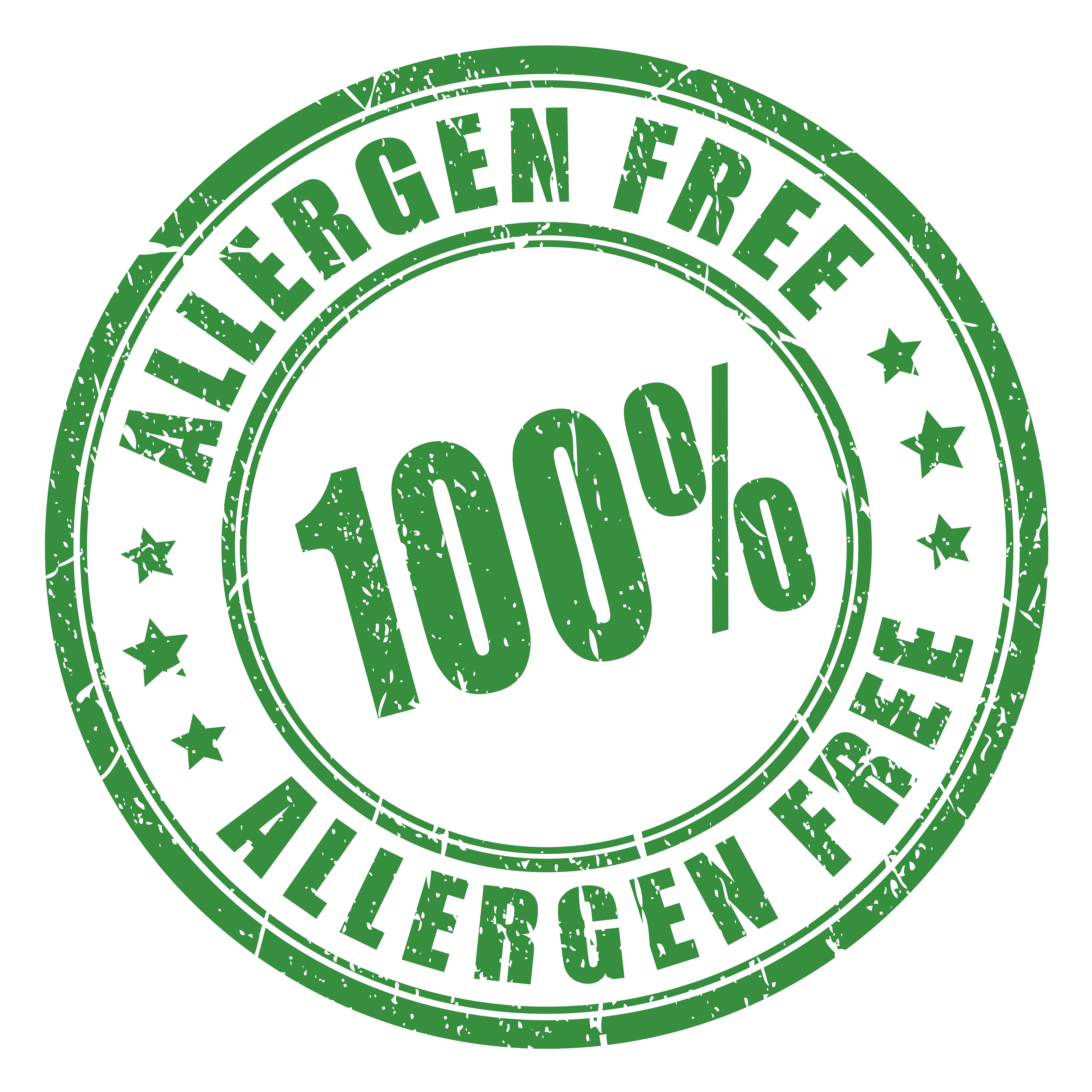 Hypoallergenic product mark