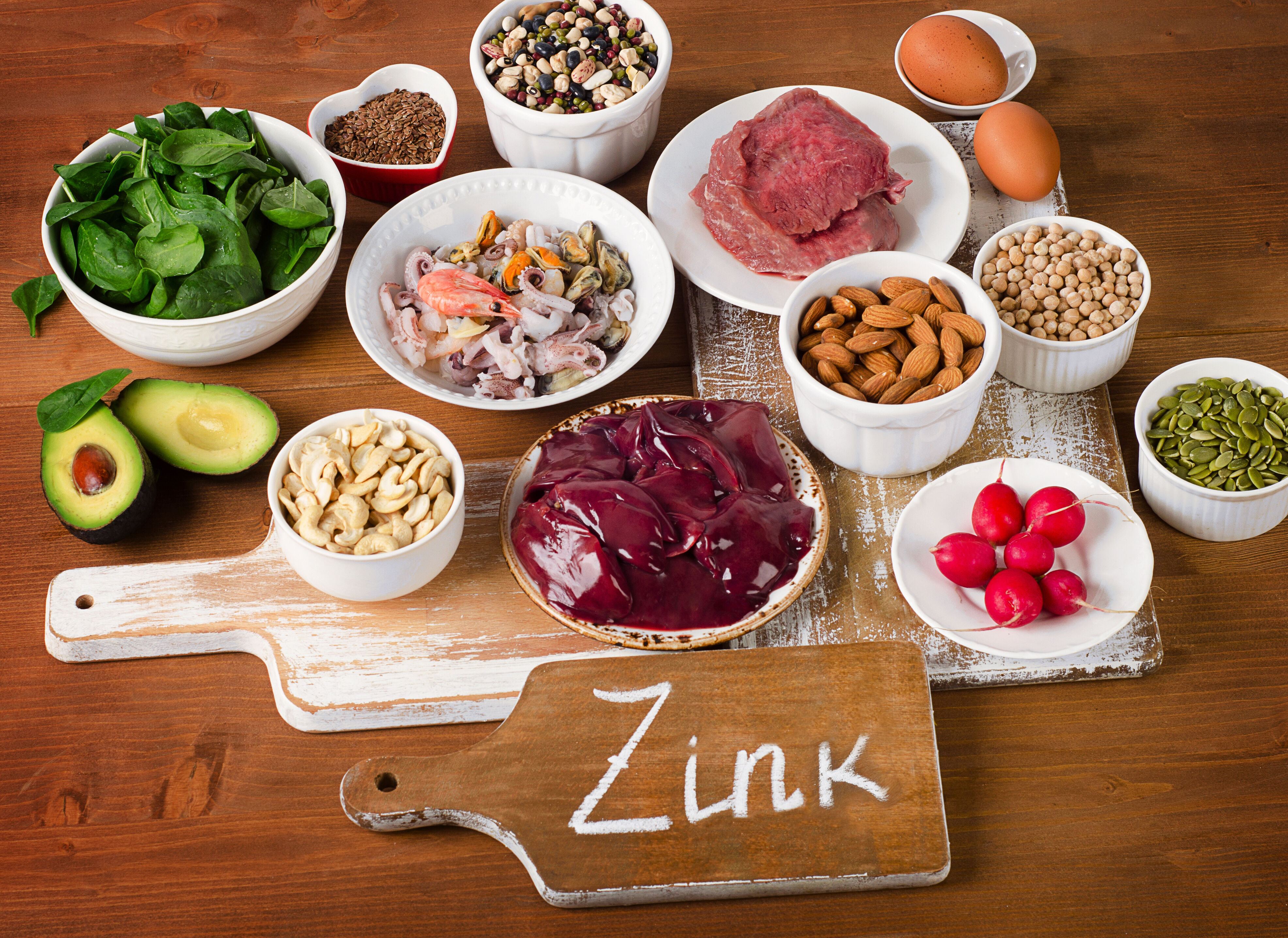 Zinc is a critical trace mineral