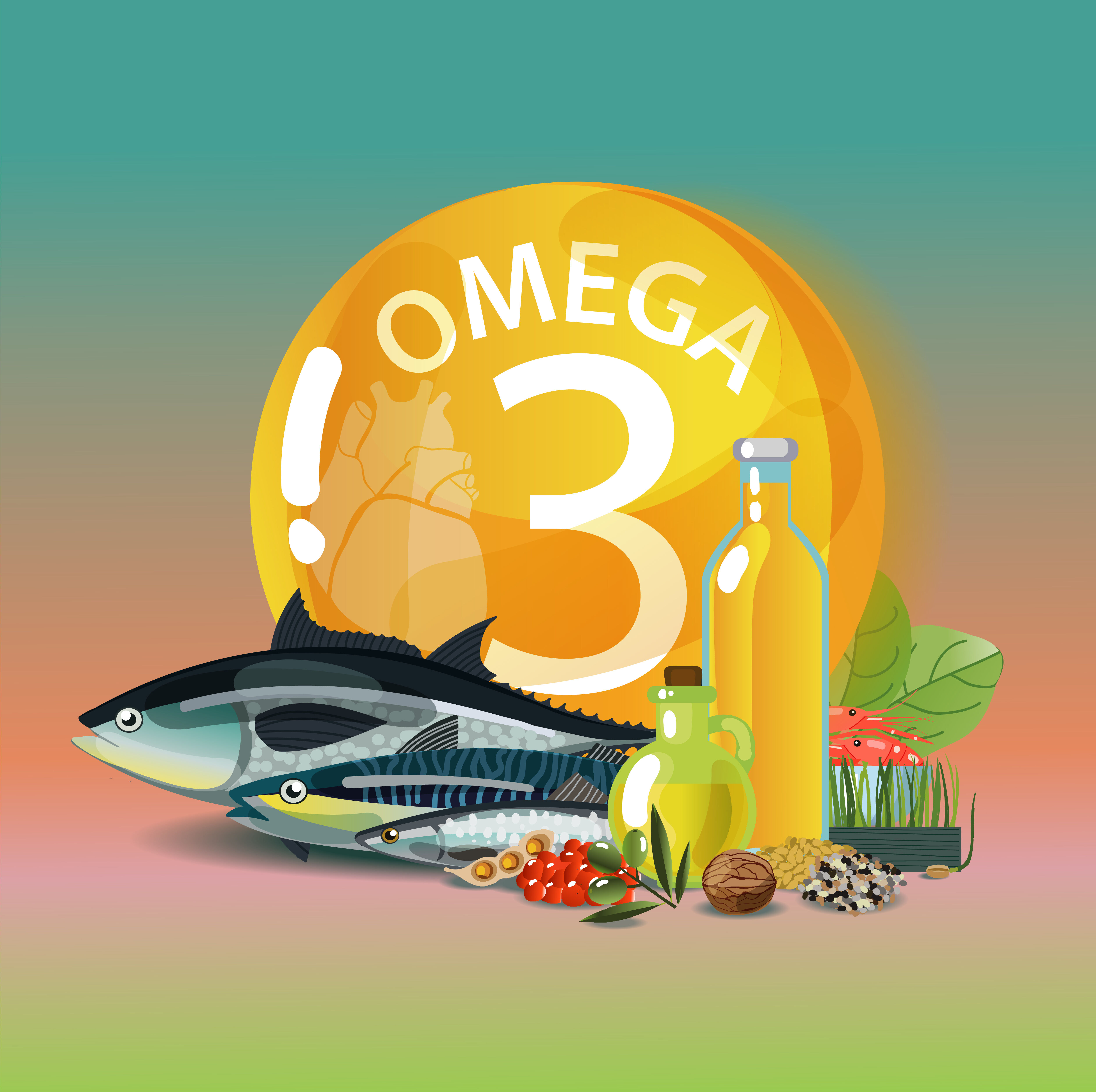 Omega-3 is for proper functioning
