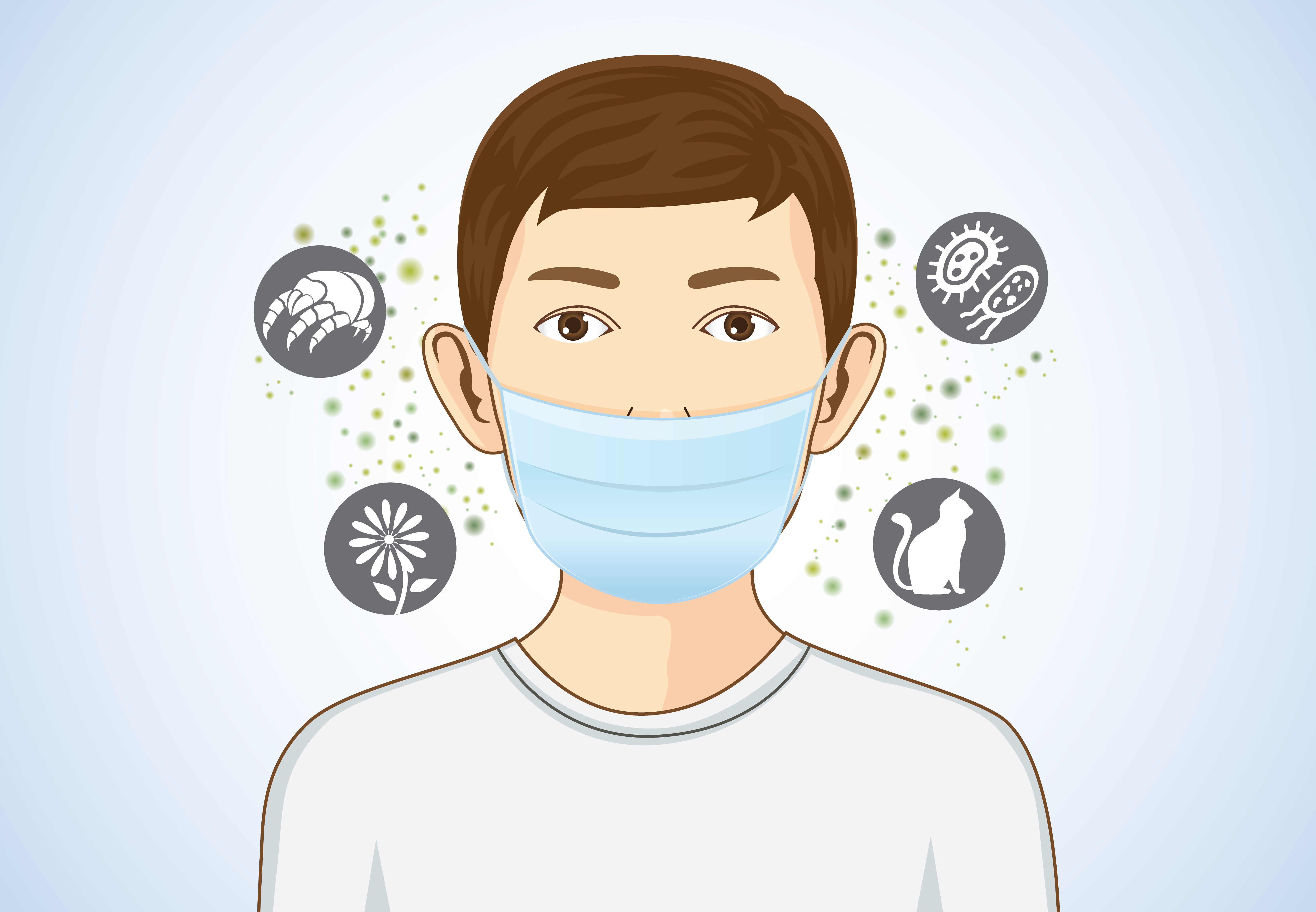 Protection of the causes of allergies